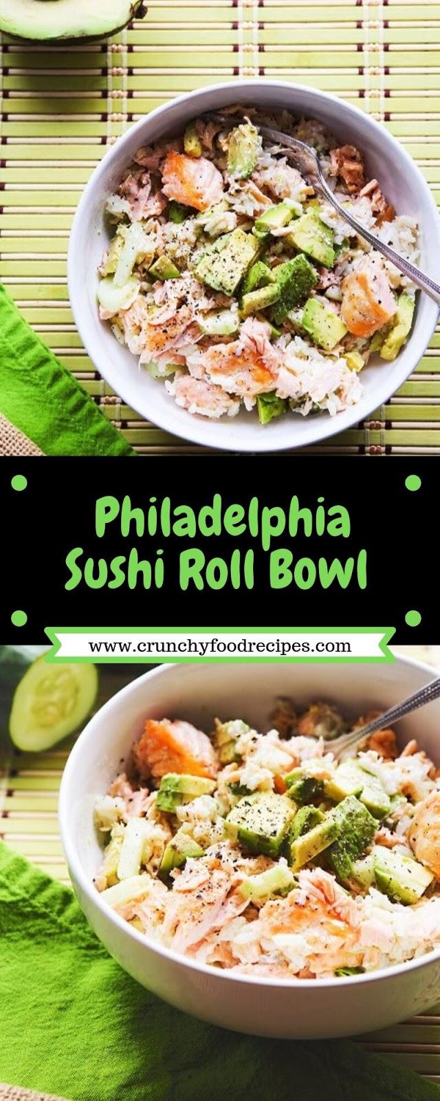 Philadelphia Sushi Roll Bowl