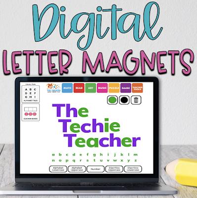Digital Letter Magnets Website