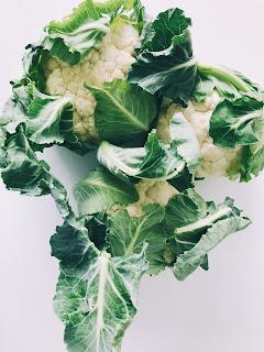 Cauliflower,green vegetables