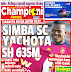 SIMBA SC YACHOTA MILIONI 633, CHAMPIONI JUMAMOSI