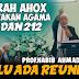 Prof. Habib Ahmad Alkaff : Perlu Ada Reuni 212 Perlu Ada Reuni 212, Ungkap Sejarah Penistaan Agama Oleh Ahox