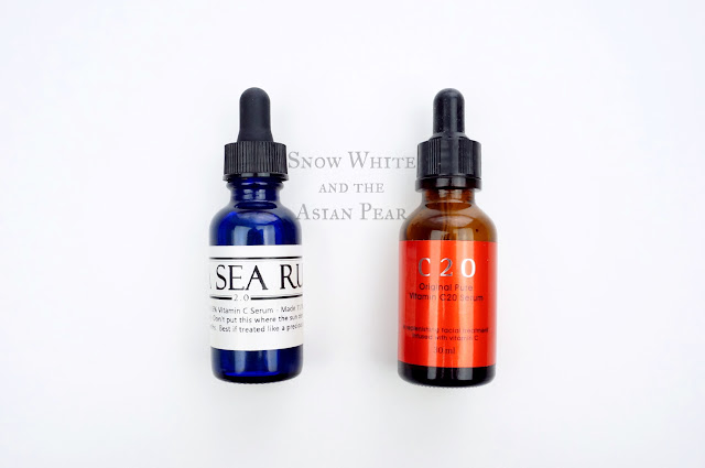 Holysnails Vita Sea Rum & OST C20 Original Pure Vitamin C20 Serum