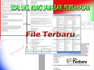 Download Soal Ukg Beserta Kunci Jawaban Serta Pembahasan Ukg Terbaru File Terbaru