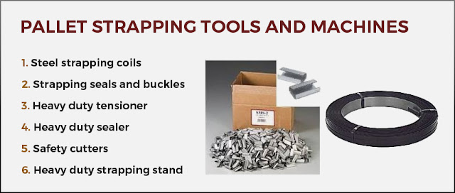 pallet strapping tools machines