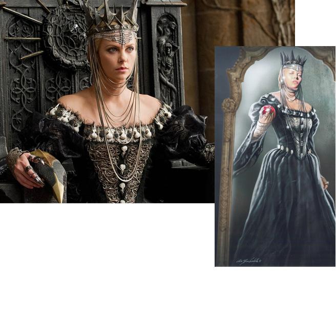 Team Kristen Site Snow White The Huntsman Costume Designer Colleen Atwood Talks About Dressing Kristen Charlize