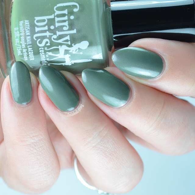 army green nail polish