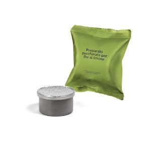 LaCompatibile LAVAZZA ESPRESSO POINT(R) - 50 Capsule Compatibili Caffè - Qualità Tè al limone - lemon tea