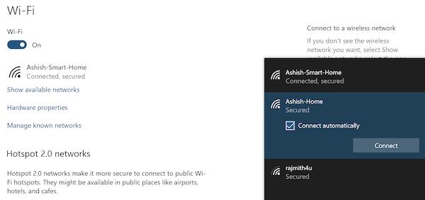 Windows 10 không tự động kết nối với WiFi khi khởi động