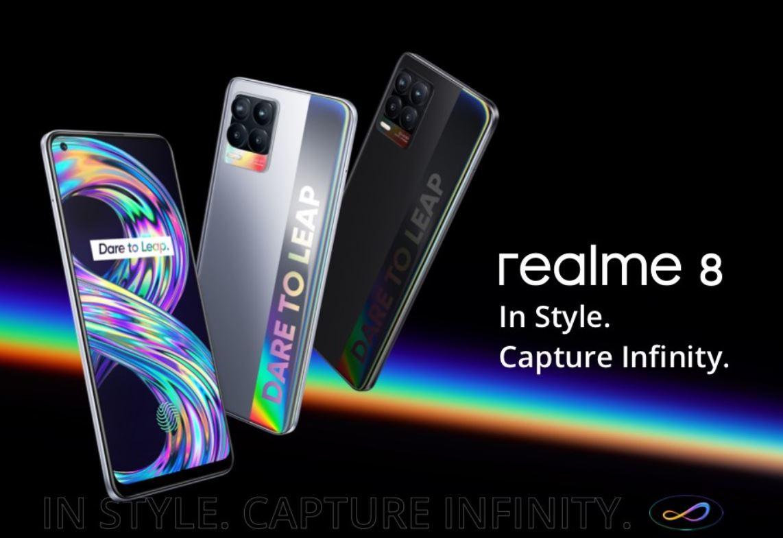 Harga dan Spesifikasi Realme 8 RAM 8GB ROM 128GB Terbaru di Indonesia