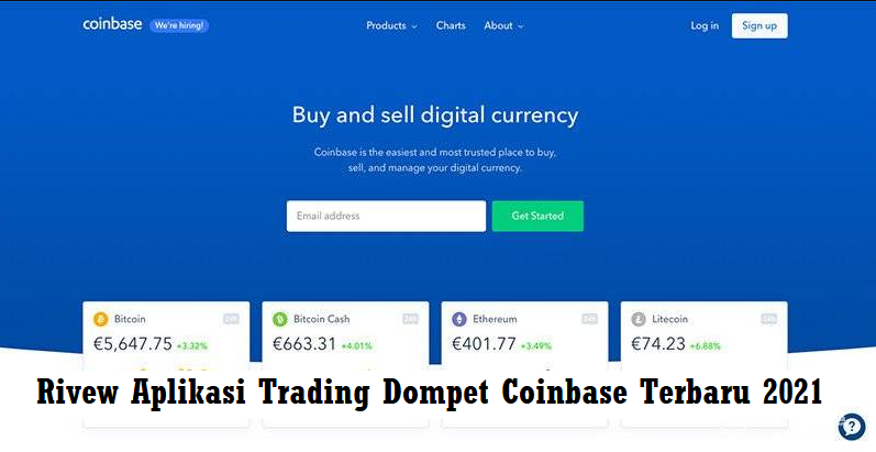 Rivew Aplikasi Trading Dompet Coinbase Terbaru 2021