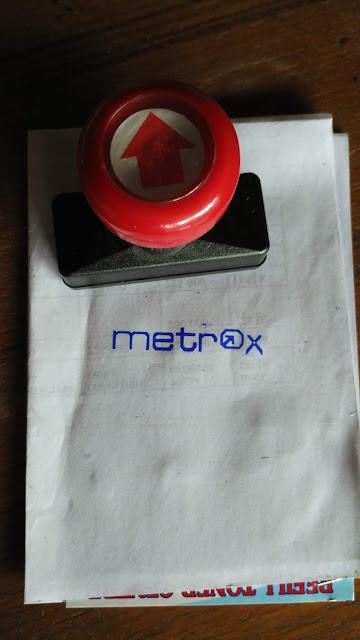 Stempel Metrox