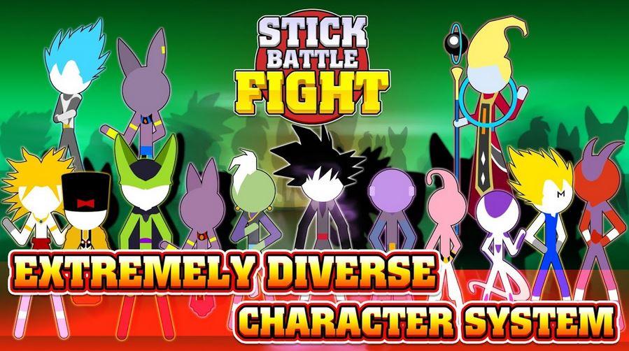 download Stick Battle Fight Mod apk v1.6 (Unlimited Money & Full Karekter) 1