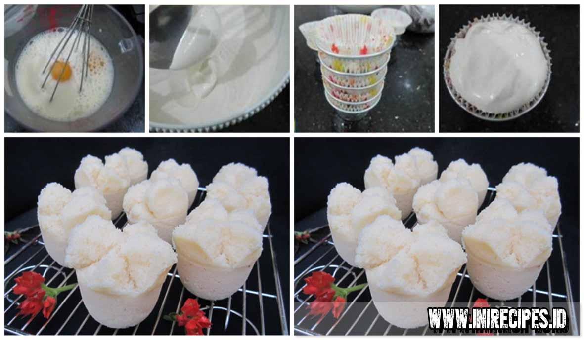 Resep Membuat Kue Mangkok Tape