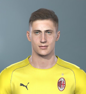 PES 2019 Faces Alessandro Plizzari by Sofyan Andri