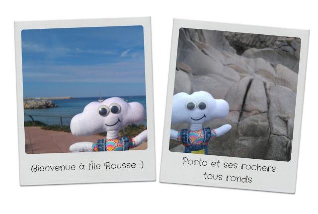 polaroid Mr Dream à l'île rousse et à porto