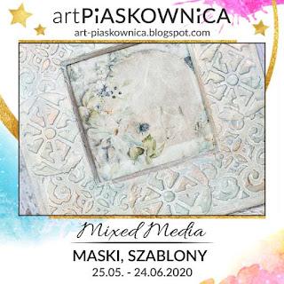 MIXED MEDIA - maski, szablony