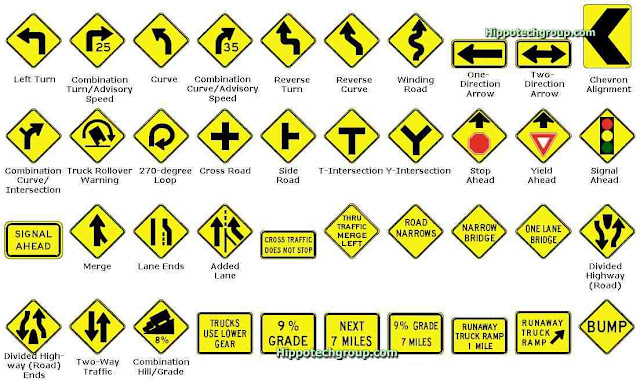 Driving Traffic Signs