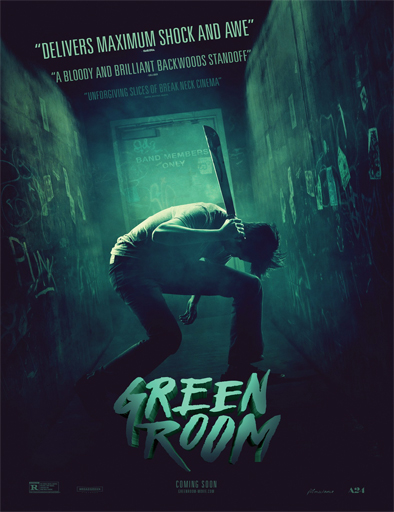 Ver Green Room (2015) Online