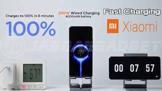 Fast Charging 200W Xiaomi