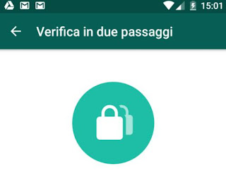whatsapp codice password