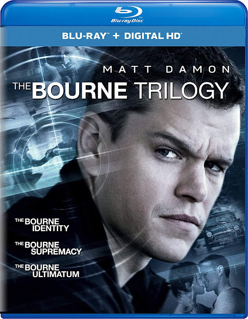 The Bourne Trilogy on Blu-ray Disc