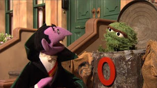 Oscar, The Count, the number of the day 0, Sesame Street Episode 4403 The Flower Show season 44