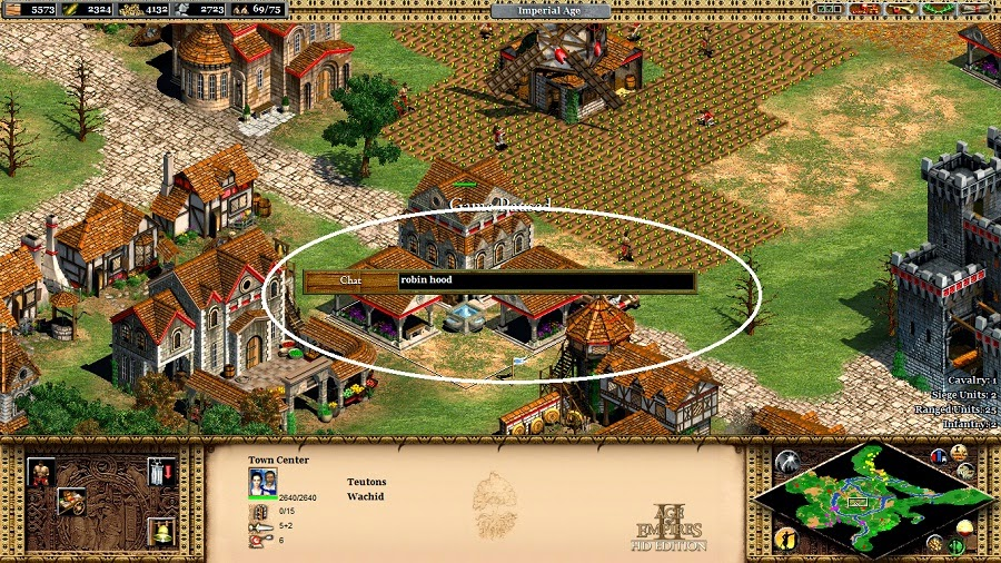 age of empires 2 instant win