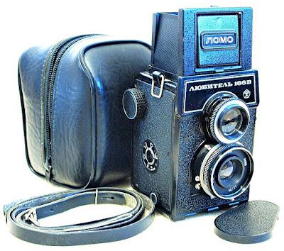 Lubitel 166B (75mm F4.5 T-22 Triplet Lens) #219