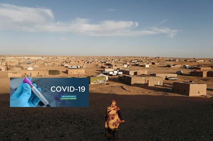 Aumentan los casos de Covid-19 en los campamentos de refugiados saharauis