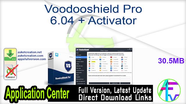 Voodooshield Pro 6.04 + Activator