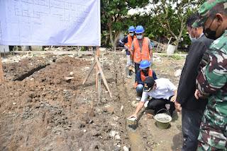 Bupati Batu Bara Resmikan Rumah Dinas dan Peletakan Batu Pertama Gedung Pelayanan Satu Atap