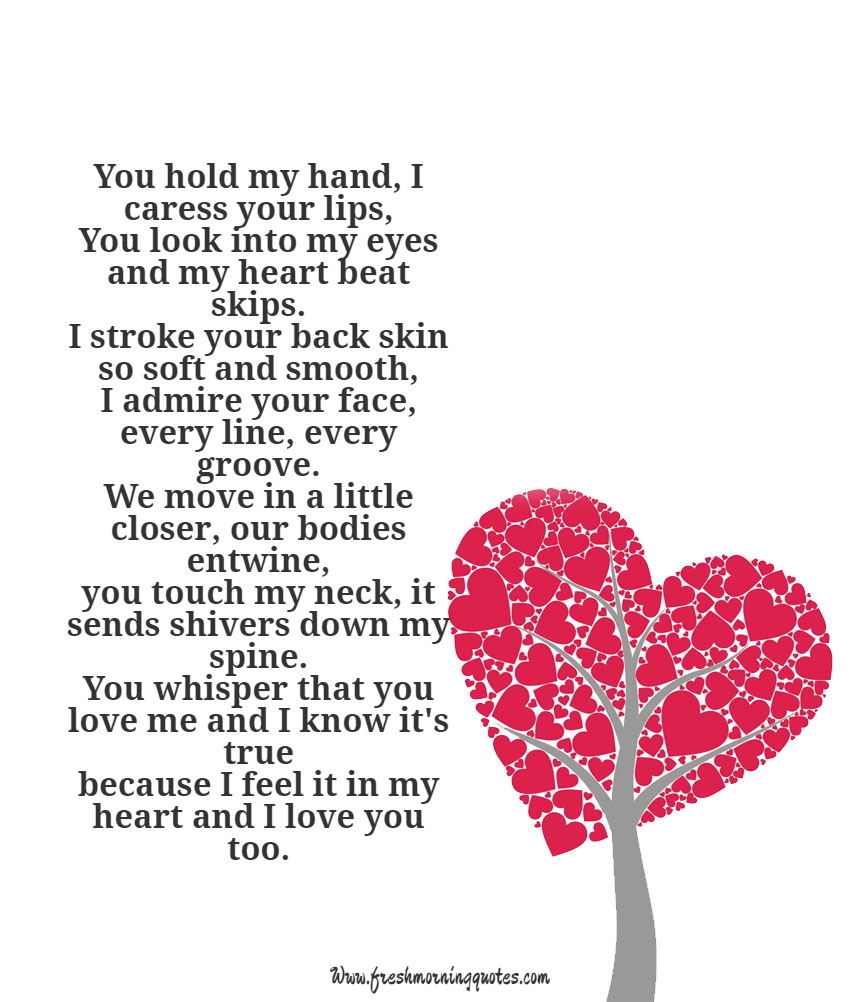 you hold my hand