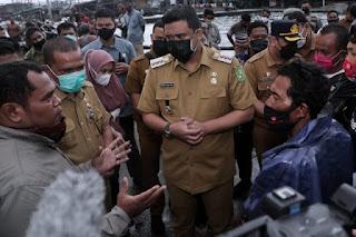 Bobby Nasution Tindaklanjuti Laporan Perihal Aktifitas Pelanggaran Penangkapan Ikan dengan Pukat Trawl di Perairan Belawan