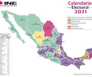 ¿Qué se elige en las próximas elecciones del 6 de junio? 2021