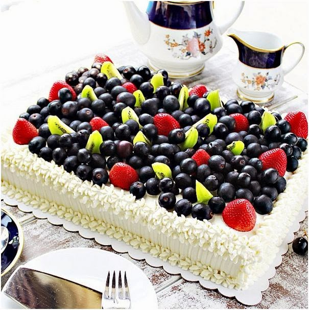 Cake With Fruit Toppings Manila
