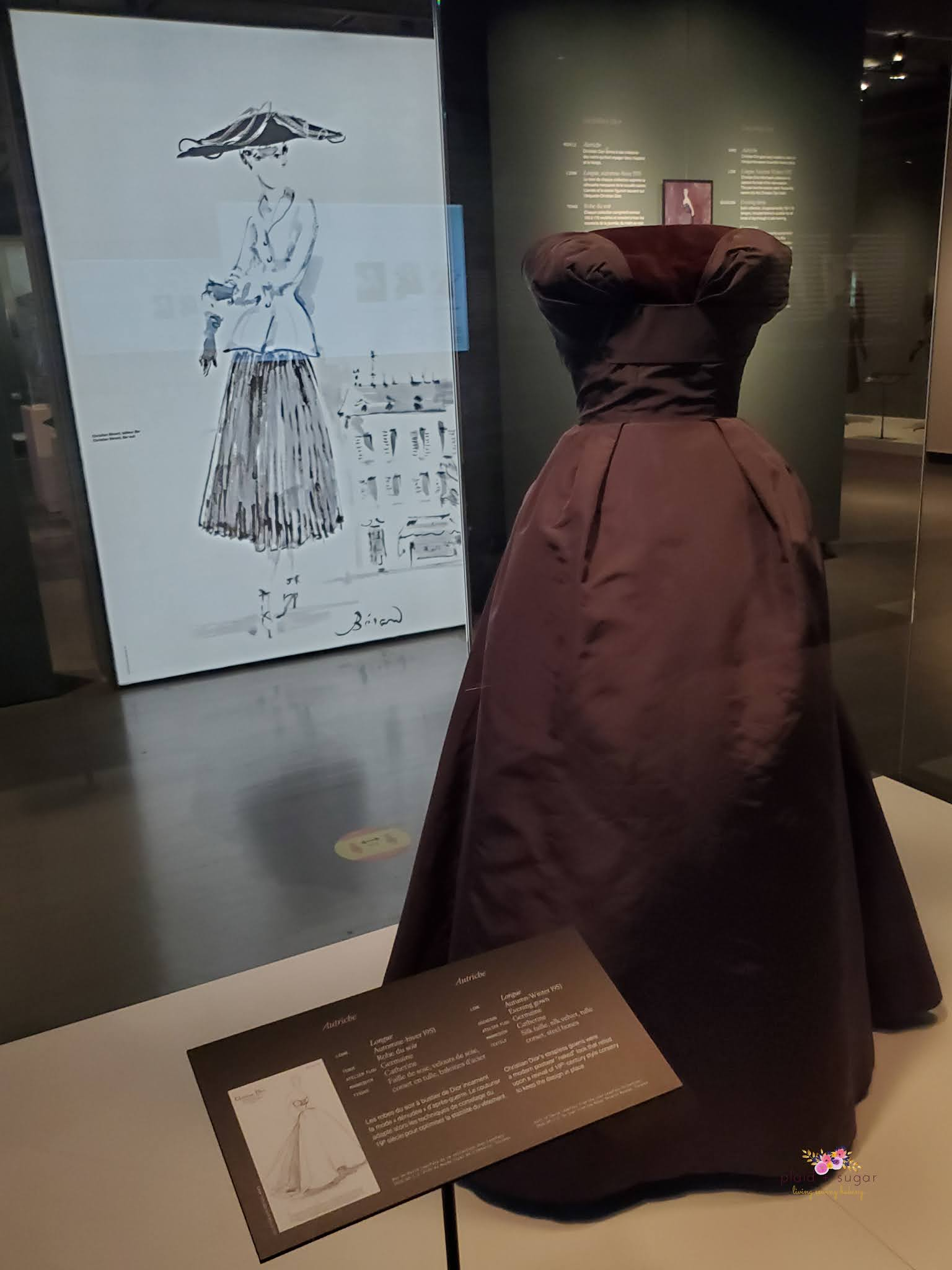 Visiting the Dior Exhibit at the McCord Museum in Montreal