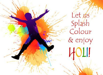 Happy Holi Greetings for Friends Relatives