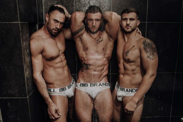 Ryan Yule, Ben Dudman and Scott Hastings for Bill and Brandon Underwear