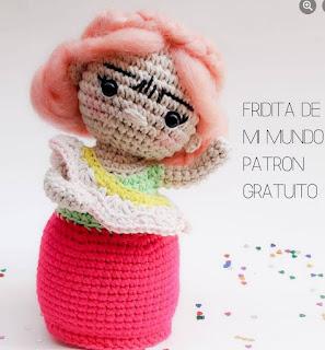PATRON GRATIS FRIDA KAHLO AMIGURUMI 45028