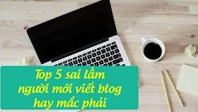 5 sai lầm thường gặp của các blogger