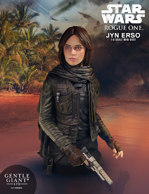 Star Wars: Rogue One Jyn Erso Mini Bust by Gentle Giant