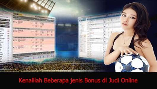 Kenalilah Beberapa jenis Bonus di Judi Online