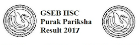 GSEB 10th and 12th Re-Exam  Result Notification 2017@www.gseb.org