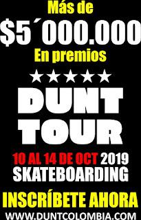 Dunt Tour 2019 como participar