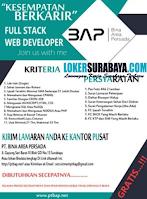 Loker Surabaya di PT. Bina Area Persada Agustus 2020