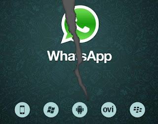 Caida del servicio de WhatsApp