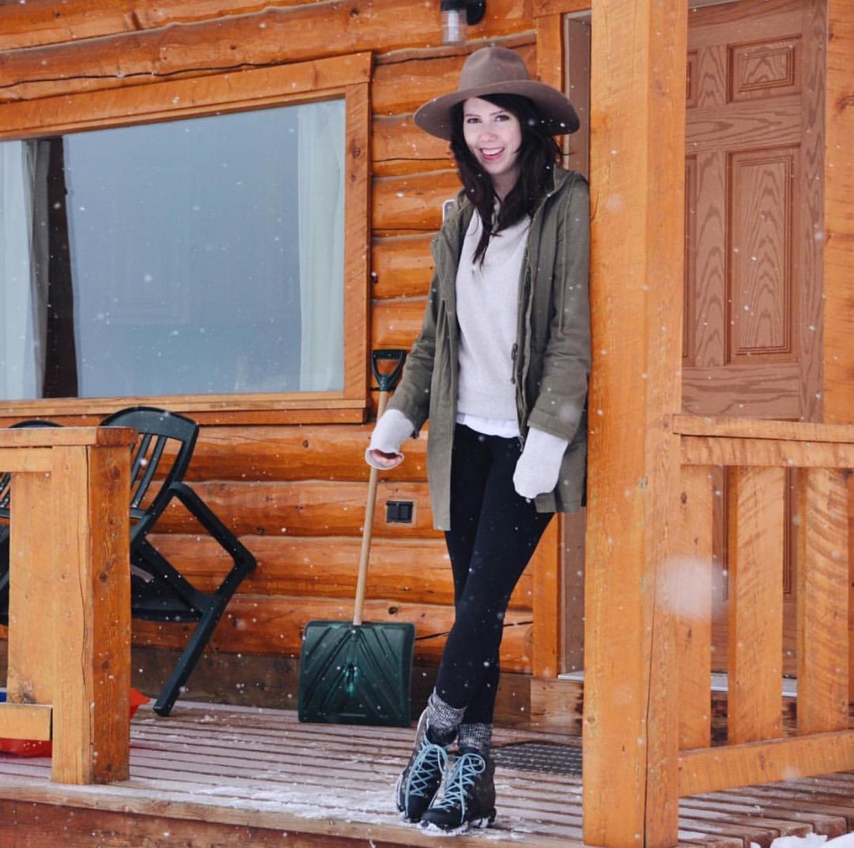lodge style cozy winter