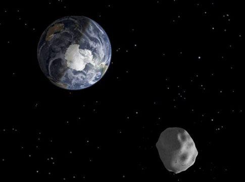 Κοντινή επίσκεψη θα κάνει μεγάλος αστεροειδής