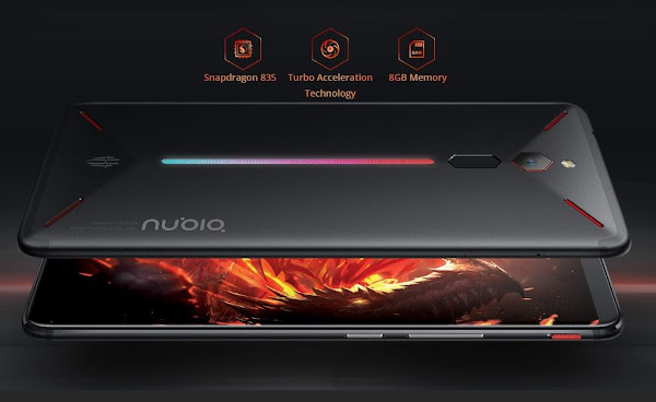 Nubia Red Magic - 8 +128 - A Grande preço em Armazém Europeu