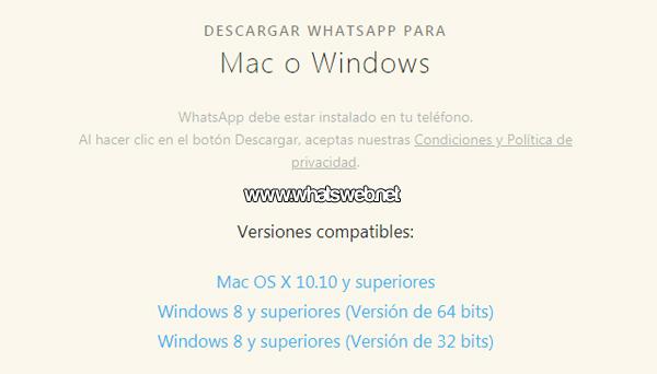 Instalar WhatsApp en mi computadora